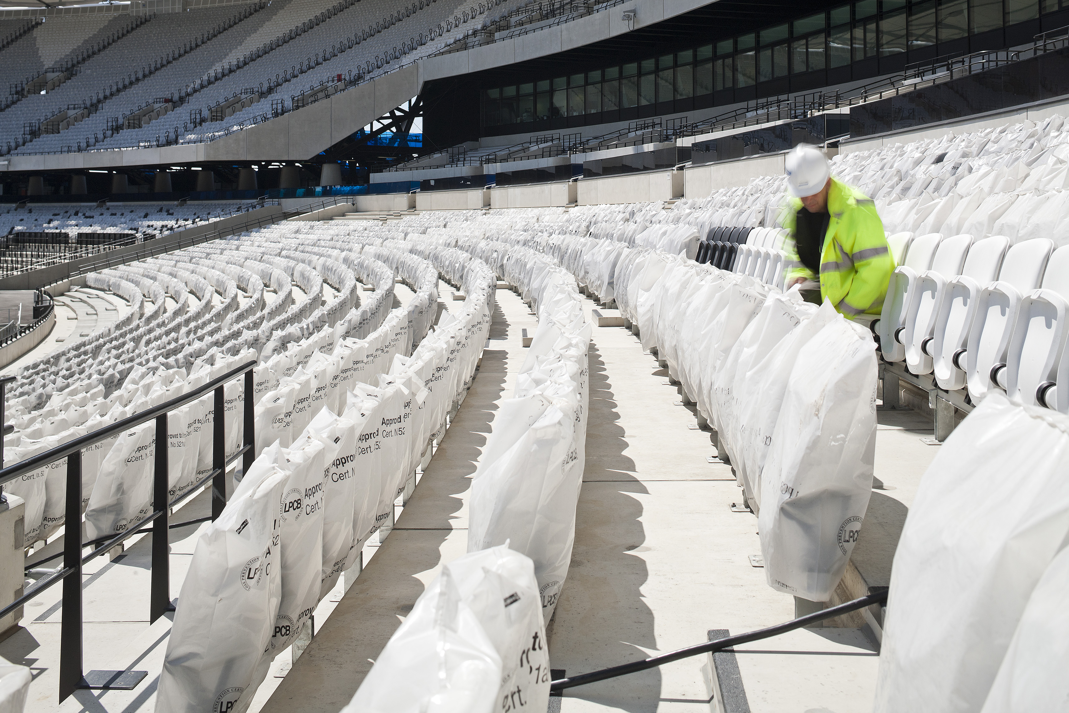 Every Seat in the Stadium